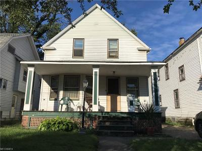 Cleveland Single Family Home For Sale: 2056 West 91st St