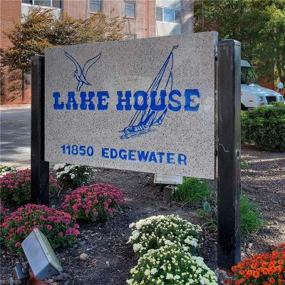 Bay Village, Rocky River, Fairview Park, Westlake, Lakewood Condo/Townhouse For Sale: 11850 Edgewater Dr #812