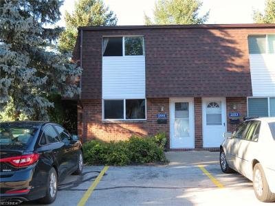 Avon Condo/Townhouse For Sale: 2551 Shakespeare Ln