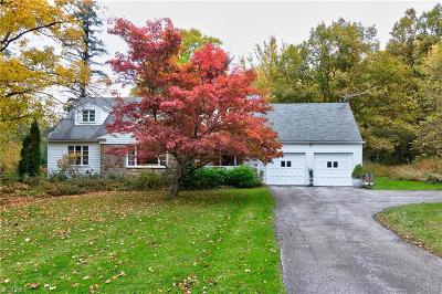 Geauga County Single Family Home For Sale: 10850 Wilson Mills Rd