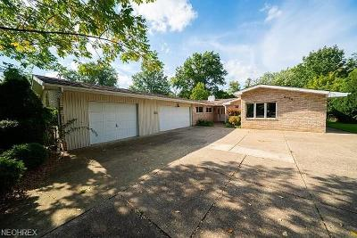 Rocky River Single Family Home For Sale: 2724 Country Club Blvd