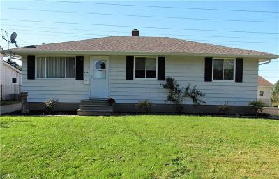 Brook Park Single Family Home For Sale: 6384 Wolf Rd