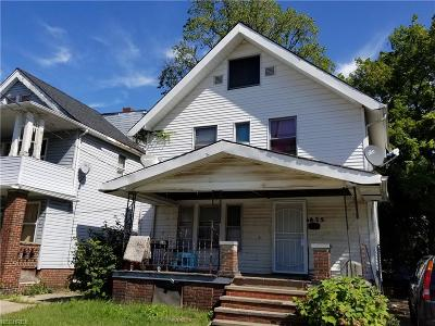 Cleveland Single Family Home For Sale: 875 East 130th St
