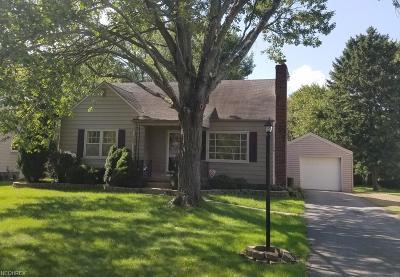 Boardman Single Family Home For Sale: 6940 Glendale Ave