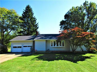 Lordstown Single Family Home For Sale: 1581 Huffman Dr