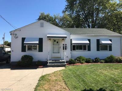 Eastlake Single Family Home For Sale: 1249 Jakse Dr