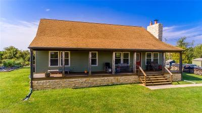 Guernsey County Single Family Home For Sale: 66797 Pisgah Rd