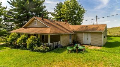 Guernsey County Single Family Home For Sale: 23195 Bridgewater Rd