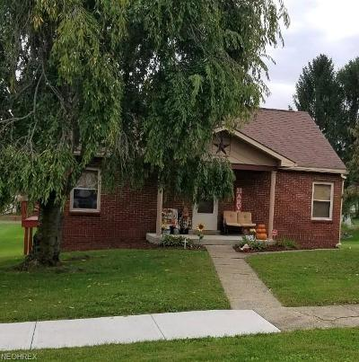 Byesville Single Family Home For Sale: 236 South 6th St