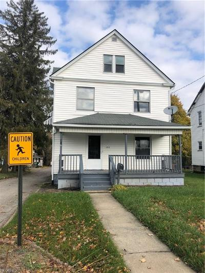 Struthers Single Family Home For Sale: 149 Sexton St