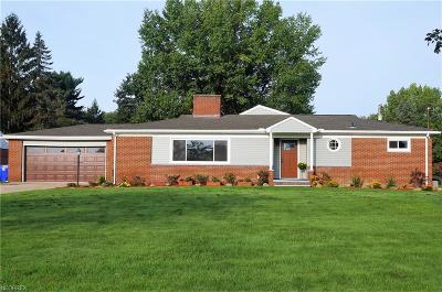 Kent Single Family Home For Sale: 5607 Horning Rd