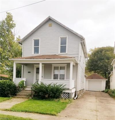 Lorain Single Family Home For Sale: 1331 West 2nd