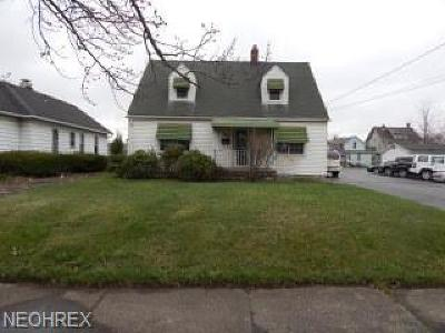 Girard Single Family Home For Sale: 120 East Broadway