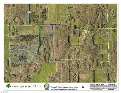 Geauga County Residential Lots & Land For Sale: V/L Thompson Rd