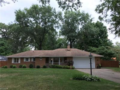 Mentor Single Family Home For Sale: 8864 Spring Valley Dr