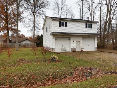 Lake Milton Single Family Home For Sale: 17564 Olive Ave