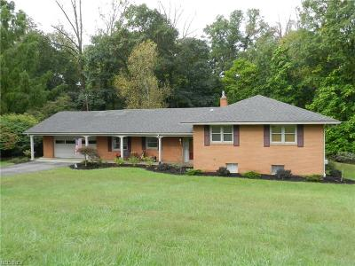Zanesville Single Family Home For Sale: 2971 Coldspring Rd