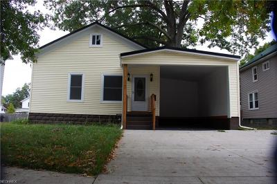 Ashtabula County Single Family Home For Sale: 167 West Liberty St