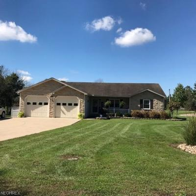 Zanesville Single Family Home For Sale: 2610 Old Glory Dr