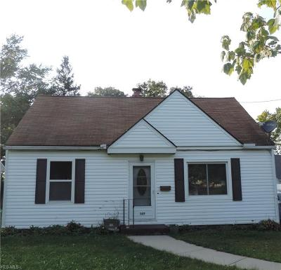 Medina County Single Family Home For Sale: 337 Baxter St