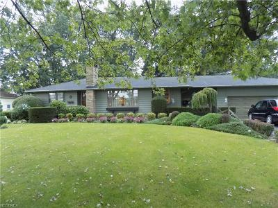 Elyria Single Family Home For Sale: 8248 West Ridge Rd
