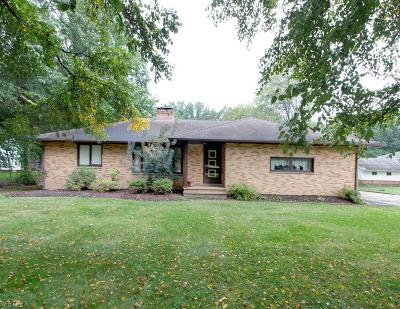 Willoughby Hills Single Family Home For Sale: 2968 Bishop Rd
