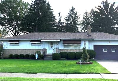Girard Single Family Home For Sale: 1011 Woodlawn Ave
