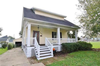 Zanesville Single Family Home For Sale: 534 Clyde
