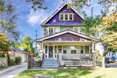 Cleveland Single Family Home For Sale: 1460 West 81st
