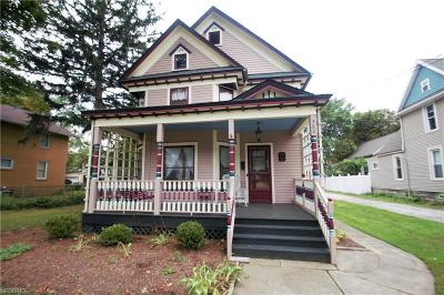 Painesville Single Family Home For Sale: 380 South State St