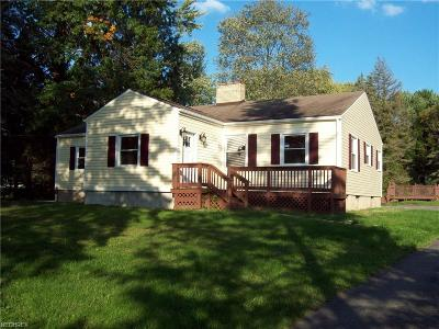 Warren Single Family Home For Sale: 1148 Niles Cortland Rd Northeast