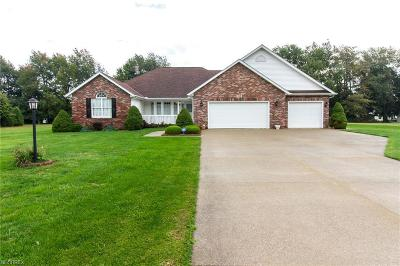 Ashtabula County Single Family Home For Sale: 7228 Harmony Glen Ln