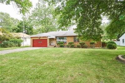 Fairview Park Single Family Home For Sale: 22885 Sycamore