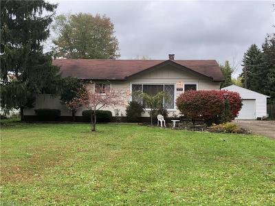 Strongsville OH Single Family Home Sold: $142,000