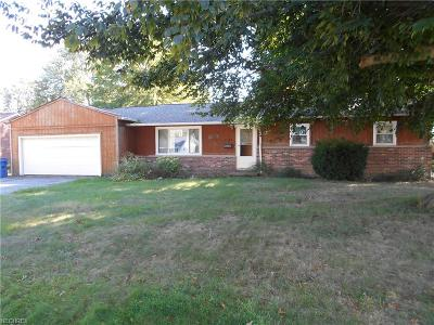 Mentor-On-The-Lake Single Family Home For Sale: 7544 Miami Rd