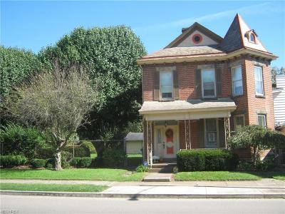 Zanesville Single Family Home For Sale: 726 Putnam Ave
