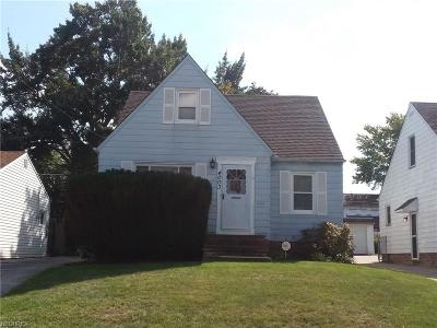 Parma Single Family Home For Sale: 4003 Milford Ave