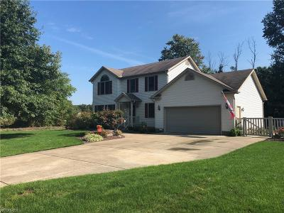 Girard Single Family Home For Sale: 2776 Woodland Trl
