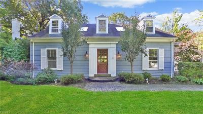 Pepper Pike Single Family Home For Sale: 33400 Fairmount Boulevard