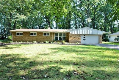 Mentor Single Family Home For Sale: 7997 Brentwood Rd