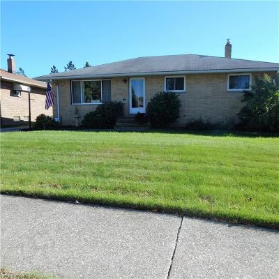 Cleveland Single Family Home For Sale: 12316 Havana Rd