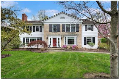 Shaker Heights Single Family Home For Sale: 2851 Attleboro Rd
