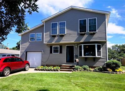 Wickliffe Single Family Home For Sale: 1839 Eldon Dr