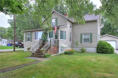 Ravenna Single Family Home For Sale: 822 Mill Rd