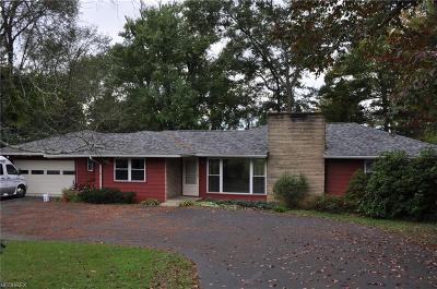 Zanesville Single Family Home For Sale: 3133 Dresden Rd