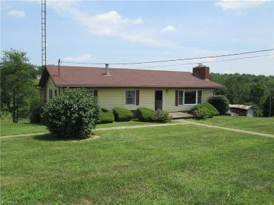 Guernsey County Single Family Home For Sale: 56160 & 56124 Woodrow Ln