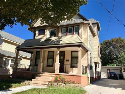 Cleveland Single Family Home For Sale: 1373 West 59th St