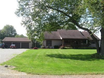 Garrettsville Single Family Home For Sale: 10085 Frazier Rd
