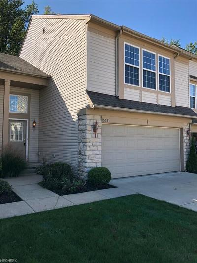 Broadview Heights Condo/Townhouse For Sale: 1663 Laughton Cir