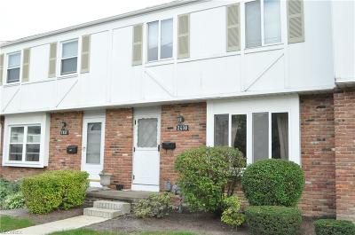 Mentor Condo/Townhouse For Sale: 7430 Duke Ct
